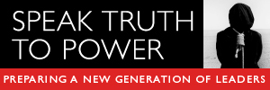 speak truth to power logo