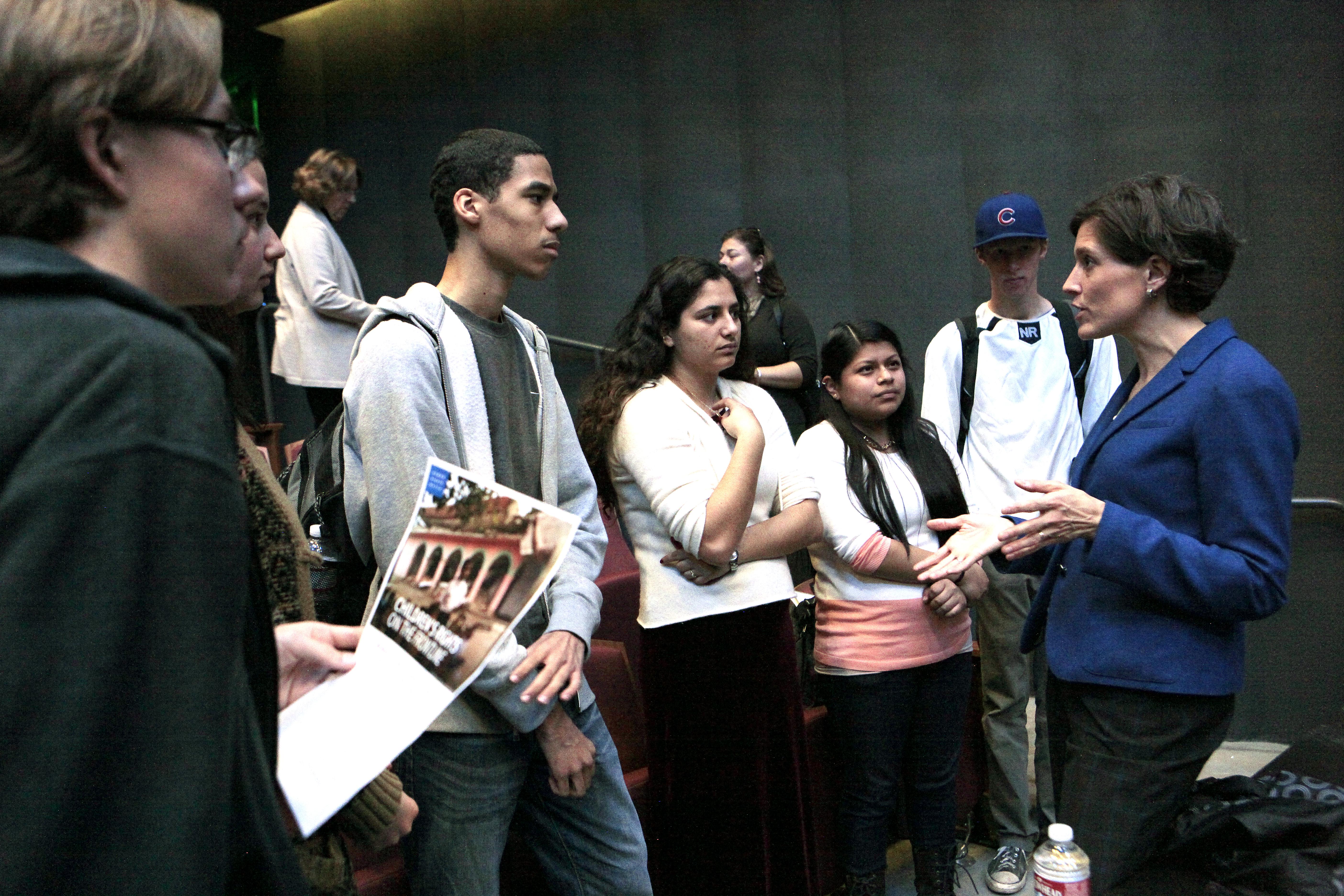 STF meeting with Assemblyman Richard Bloom @ Santa Monica High School.