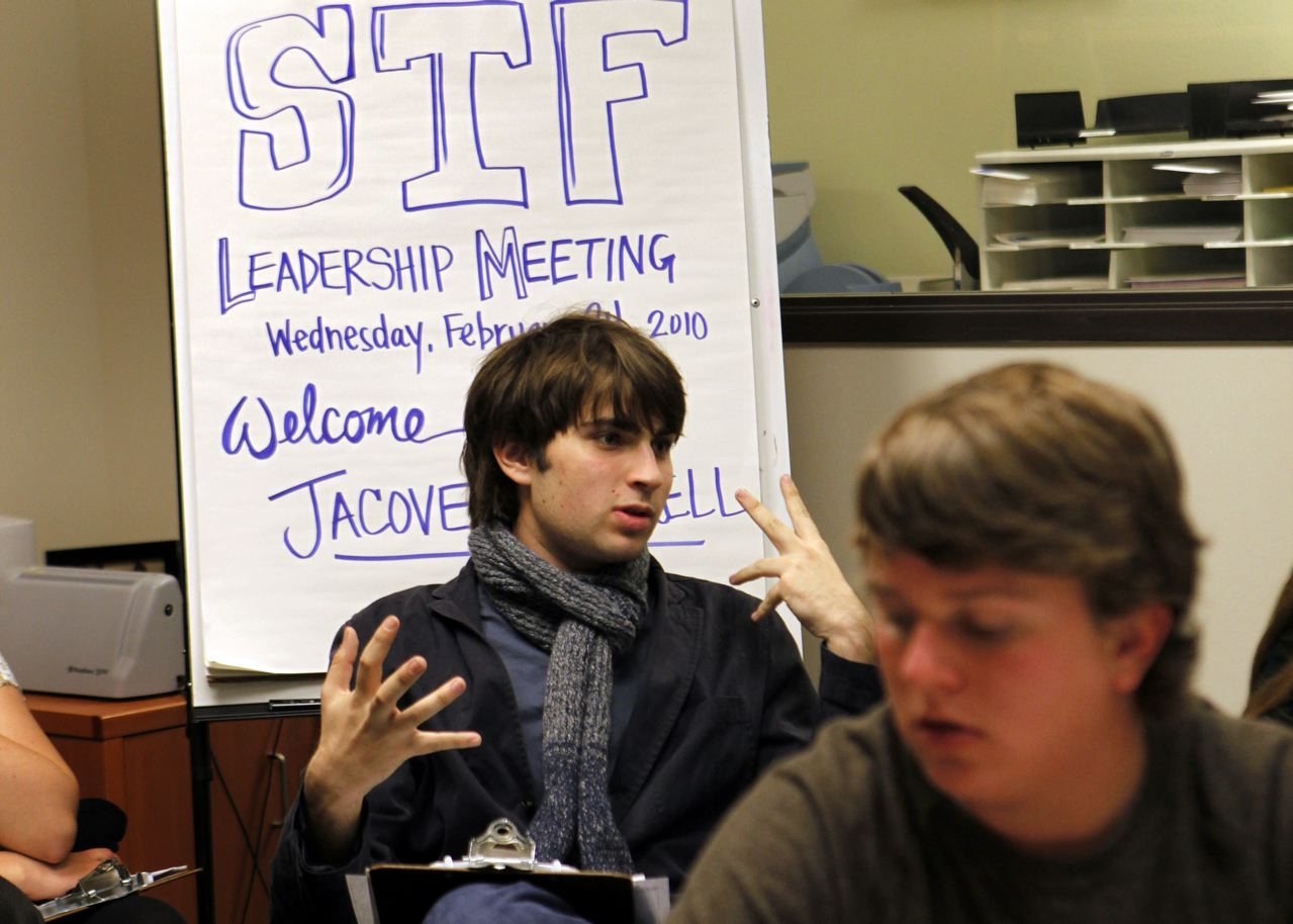 STF Leadership Meeting with Jacover Harrell.