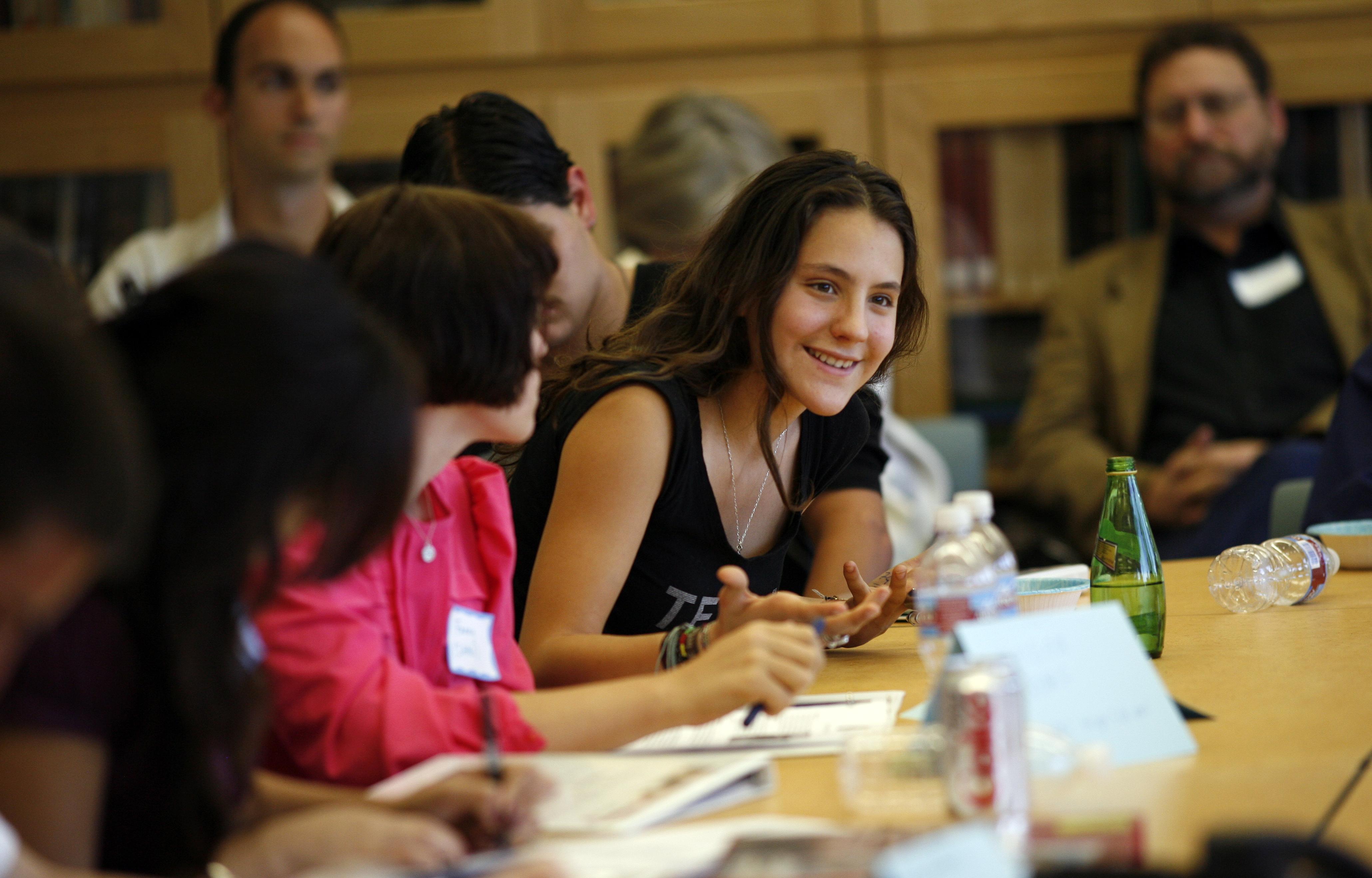 HRW Student Task Force leadership training at UCLA.